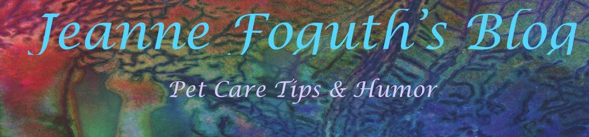 Jeanne Foguth's Blog